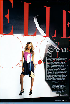 Jessica Alba Pictures from Elle Magazine