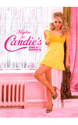 Hayden Panettiere's Candies Ads