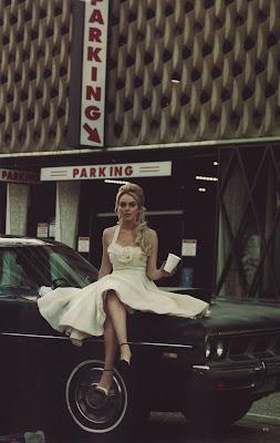 Lindsay Lohan Harper's Bazaar