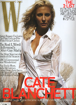 Cate Blanchett in W Magazine