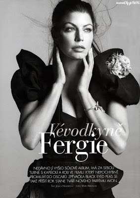 Fergie Marie Claire