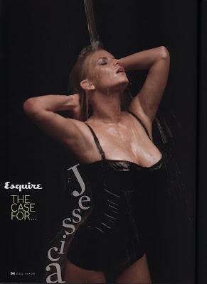 Jessica Simpson Esquire Pictures