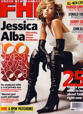 Jessica Alba Aussie FHM Pics (June 2008)