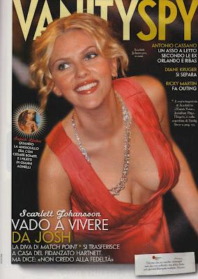 Scarlett Johansson Cleavage Shot