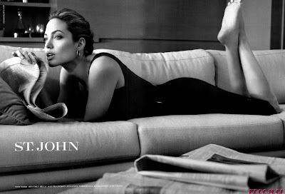Angelina Jolie St. John Ads