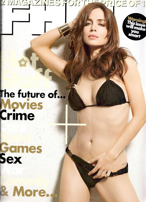 Eliza Dusku in Lingerie and Swimwear FHM Sept 2009