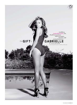 Gabrielle Union MAxim 12-09
