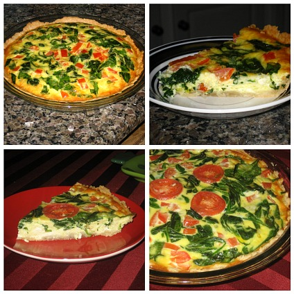 Quiche Revisited - Peas And Crayons