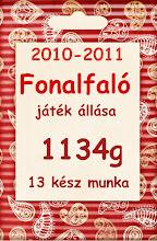 Fonalfaló játék 2010-2011