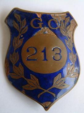 antigo brasão Guarda civil do estado de São Paulo