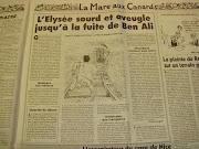 チュニジア革命の前夜。仏大統領官邸エリゼ宮殿に連絡が ベンアリ亡命拒否は地中海の上で?