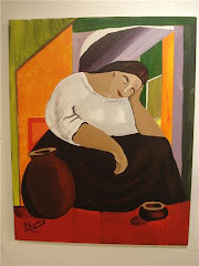 Vilande kvinna av Angelica Riquelme