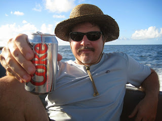 Dave with Diet Coke