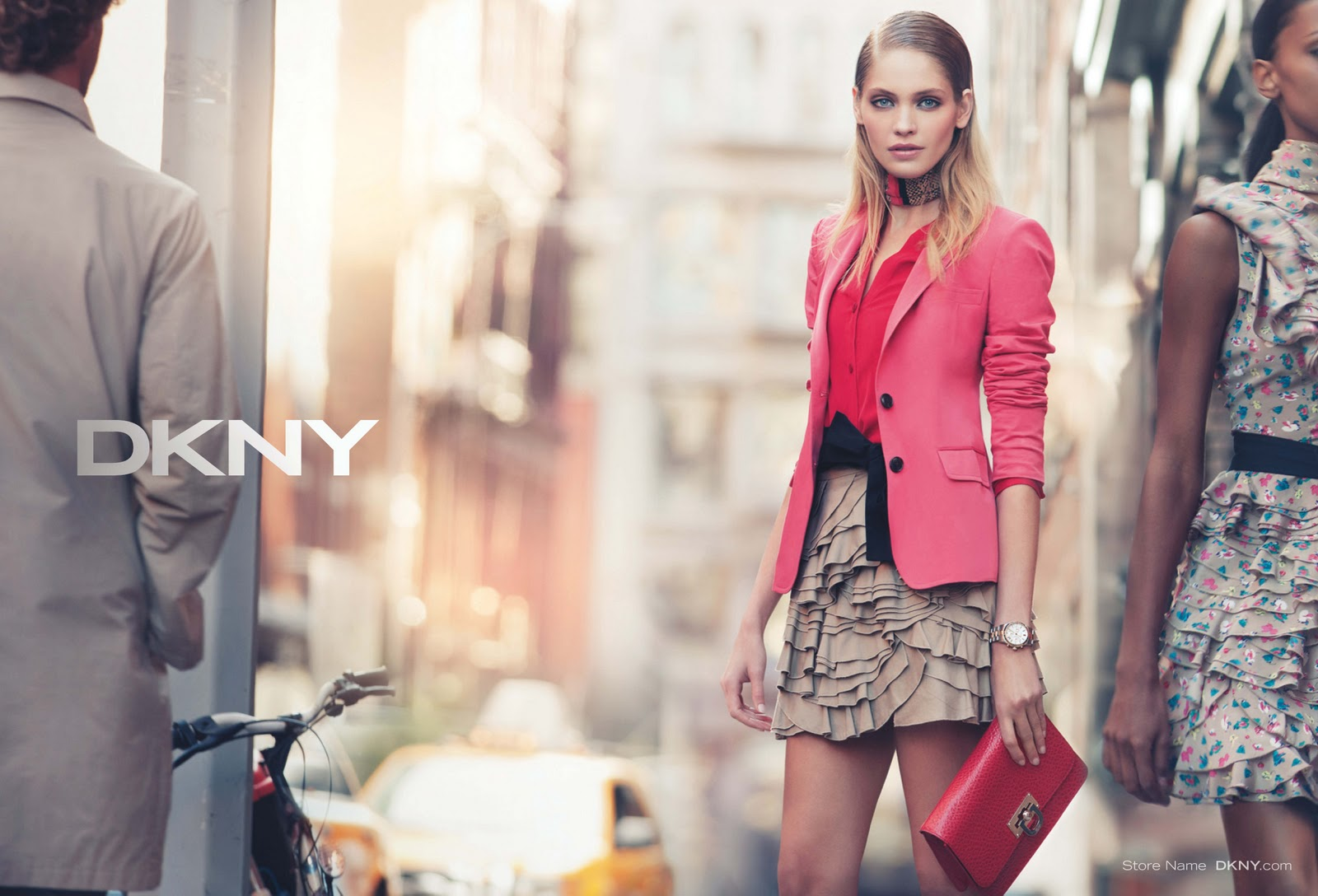 сумка dkny : Diary of a clotheshorse new dkny campaign for s