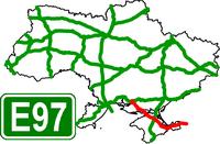 European Route Road E-97 - Европейский автомобильный маршрут Е97