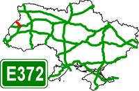 Motorway Е-372 Ukraine
