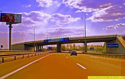 Фото. Автомагистраль М05 - Е95 Киев-Одесса. Транспортная развязка возле Василькова - Photo. Highway M05 - E95 Kyiv-Odesa Ukraine