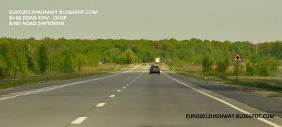 Автодорога М-06 Киев-Чоп. Объездная дорога Житомира