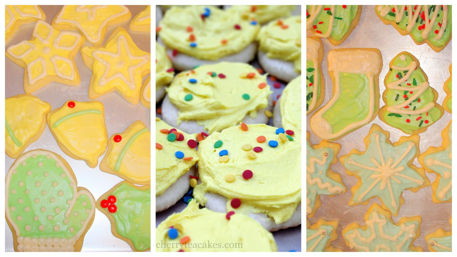 Cherry Tea Cakes Old Fashioned Sugar Cookies