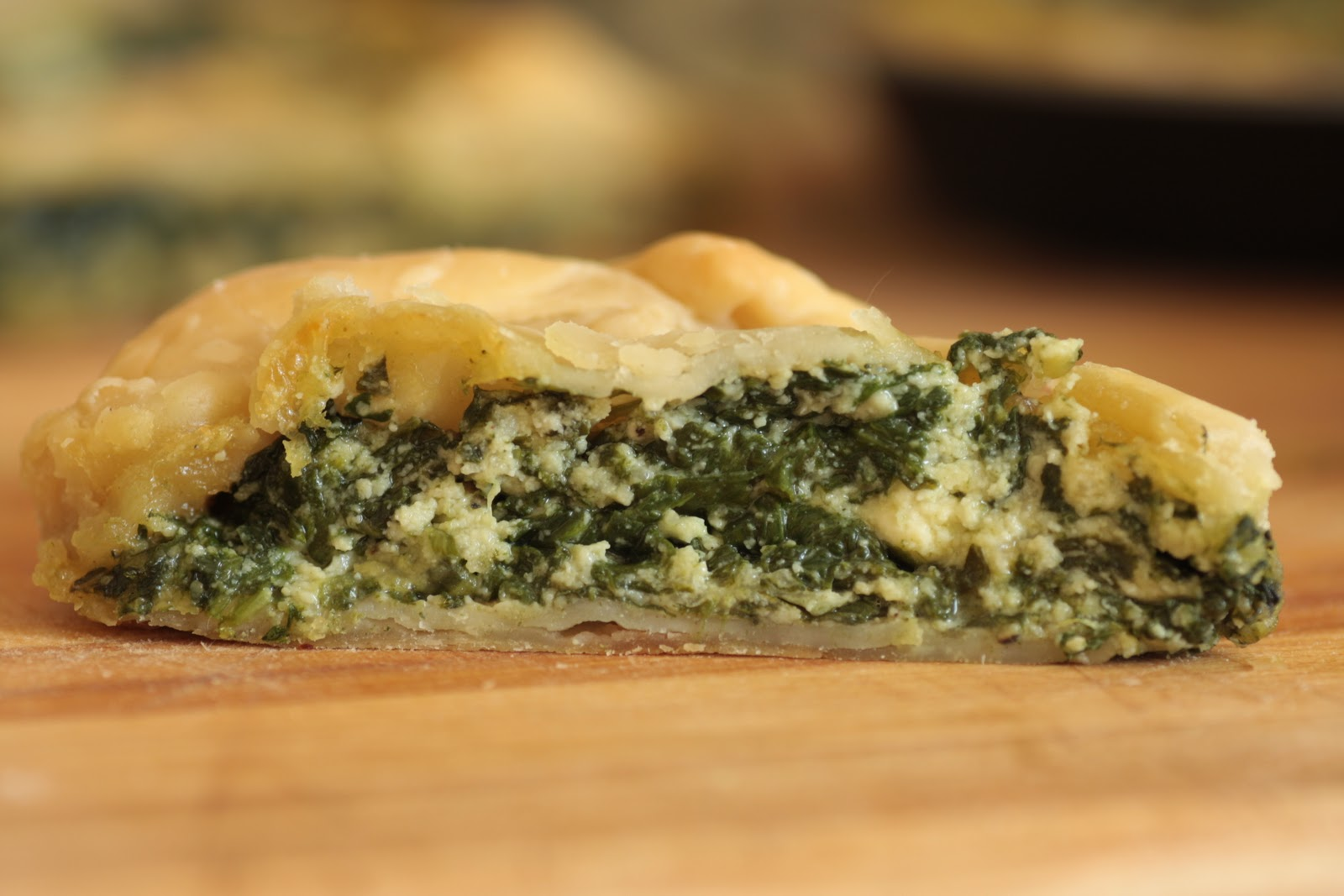 Easy Cooking with Alba : Spinach Ricotta Pie