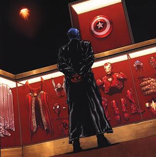 Red skull : showcase of trophies (old man Logan)  Wolverine+72+-+Red+Skull%27s+trophy+room