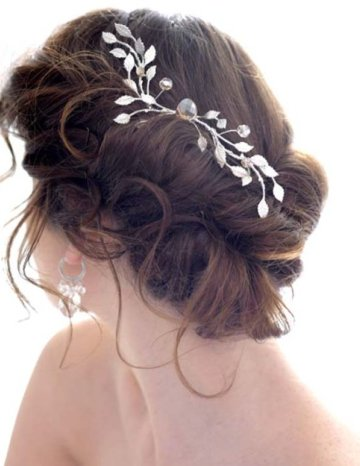 curly updo hairstyles for weddings. Over time, wedding updos have