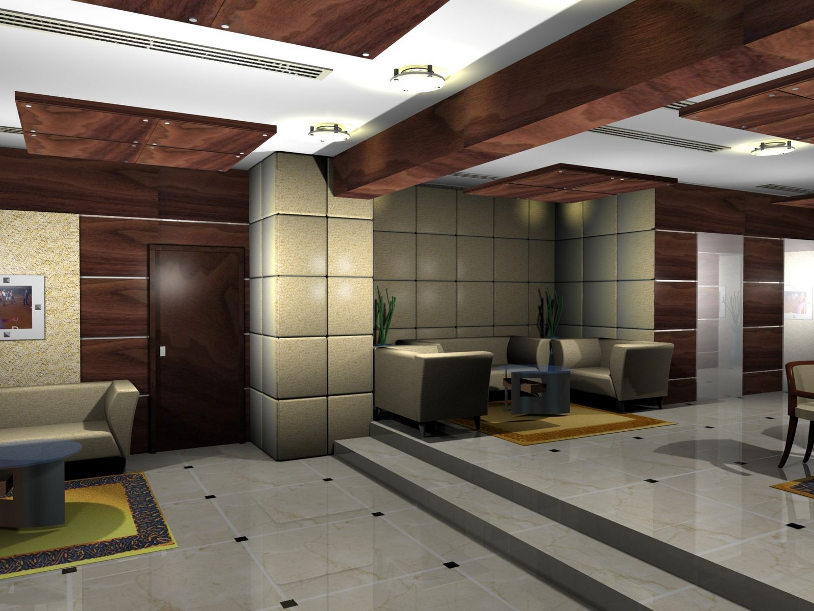 gurooji design mont royal hotel lobby design