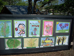 Matunuck Elementary students' art work