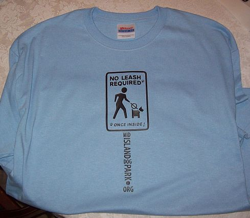 Mid Island Dog Park T Shirt