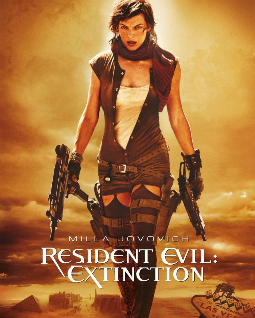 Resident Evil Extinction Buzzimage: Milla Jovov...