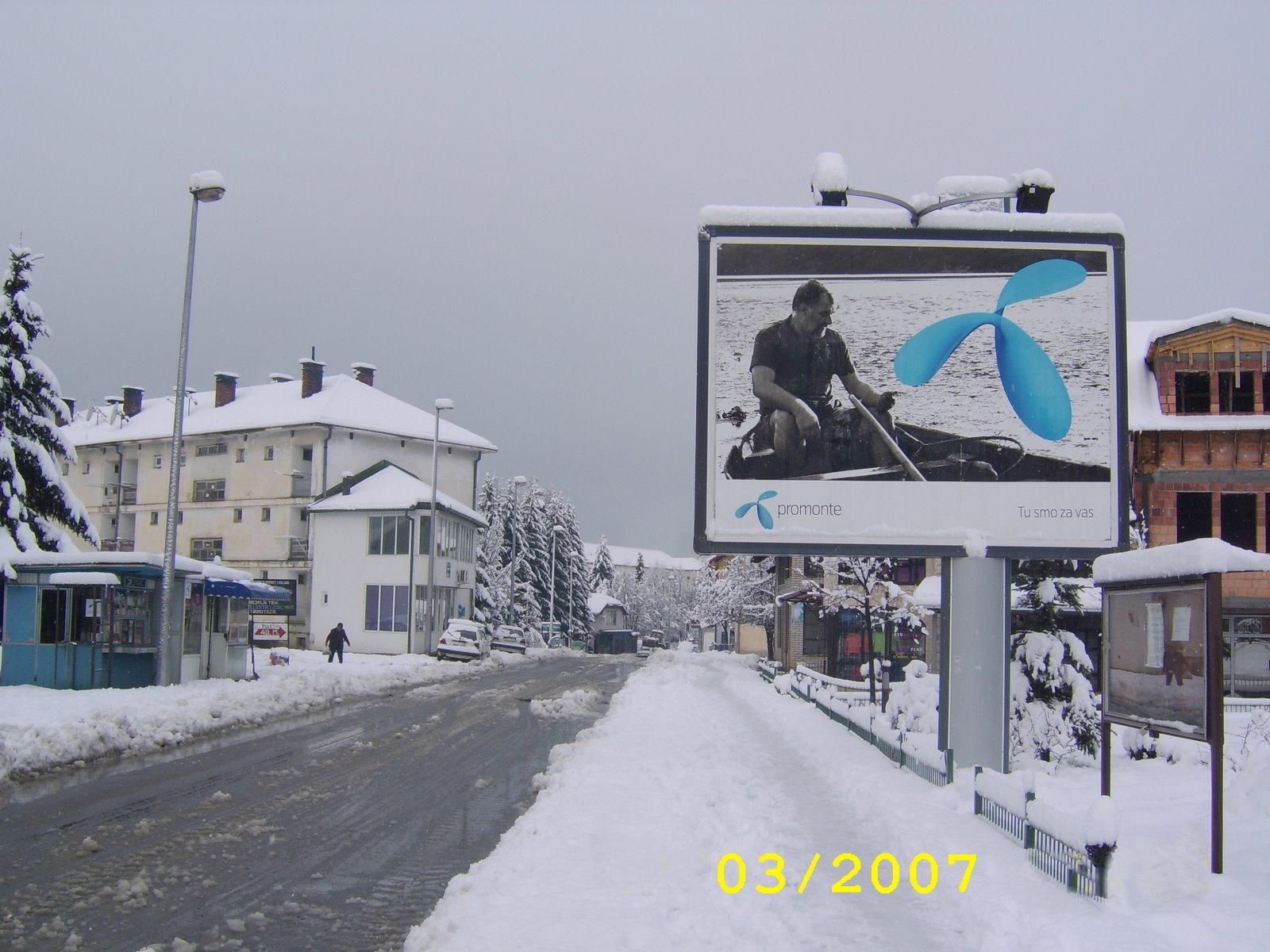 Plav - zima