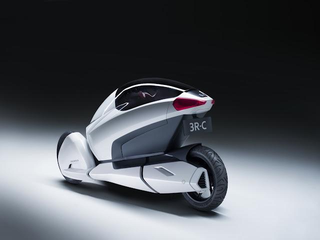 Honda 3R-C | Konsep Mobil Masa Depan