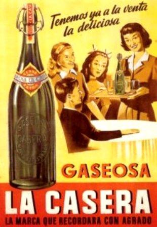 Anuncio. 1950 La casera