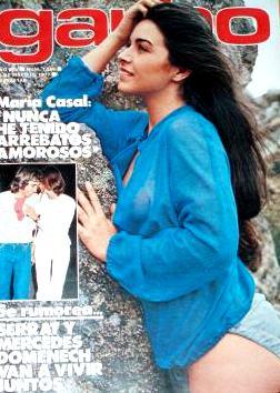 Revistas. Garbo 1977. Portada María Casal