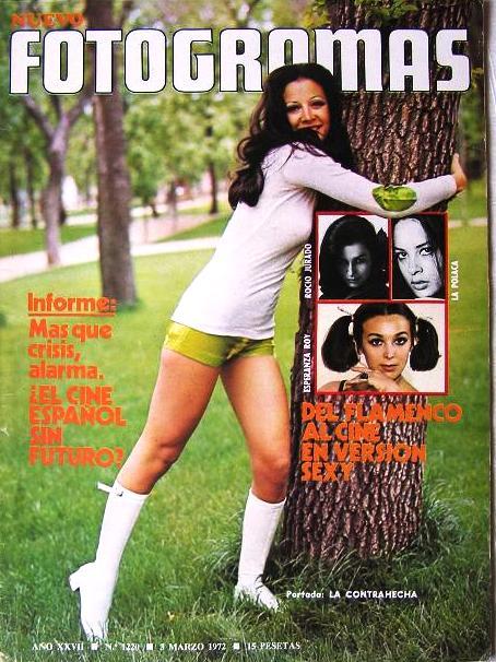 Revista Fotogramas 1972. LA CONTRAHECHA