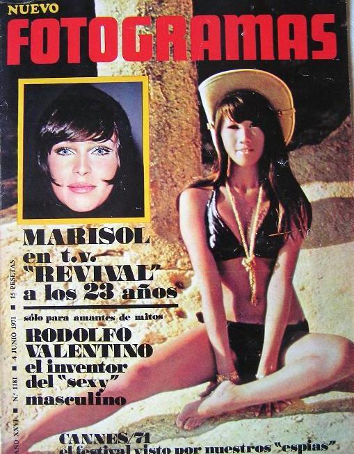 Revista Fotogramas. 4 de junio de 1971.  MARISOL