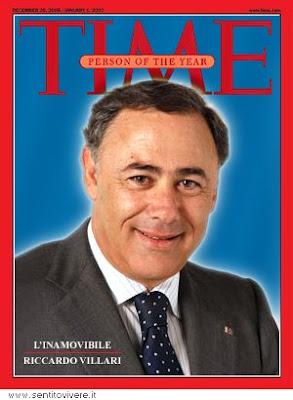 Sentitovivere - Blog di Luigi Viscido - Villari Persona dell'Anno per TIME Italia