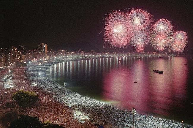 Новый год на Лазурном берегу - Новый год во Франции