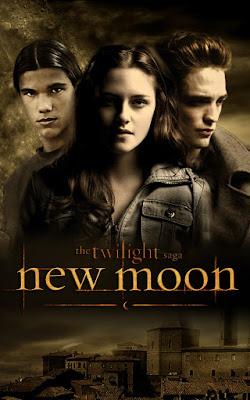 the twilight saga new moon poster