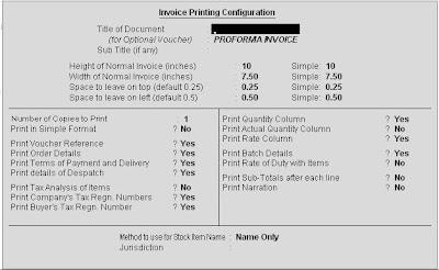 Sales Invoice print