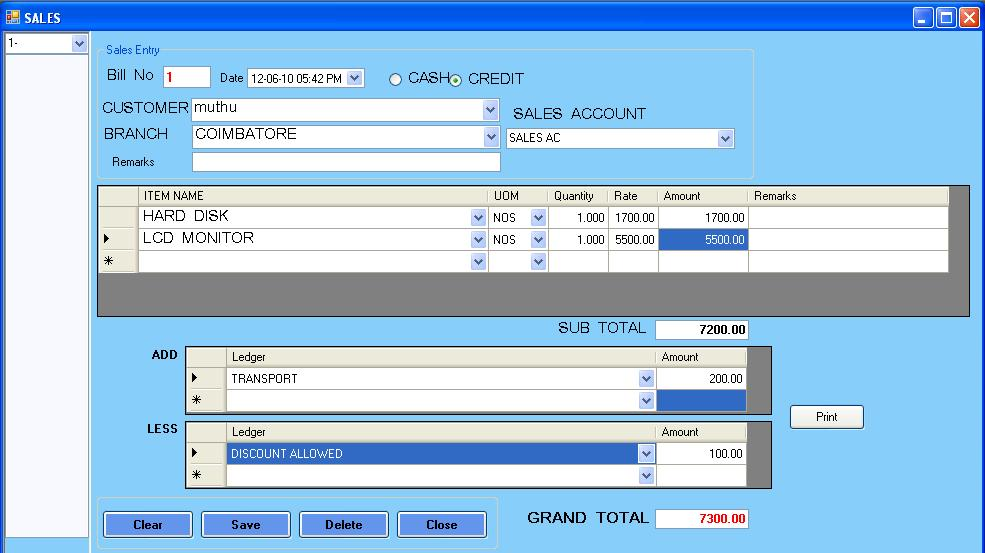 sales and billing system Try it for free easy, fast and secure online billing system software  you  can run a report to calculate your sales tax is a breeze select date range and.