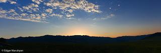 Լուսաբացը Սբլիս (Չաթին դաղ) լեռան վրա Պանարամա