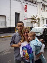 """Alejandro """"el enano"""" Aznar y familia"""