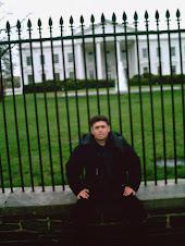 أمام البيت الأبيض