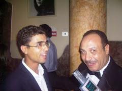 مع خالد صالح