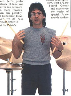 Jeff Porcaro--The Groove Master: Jeff's Drum Set History