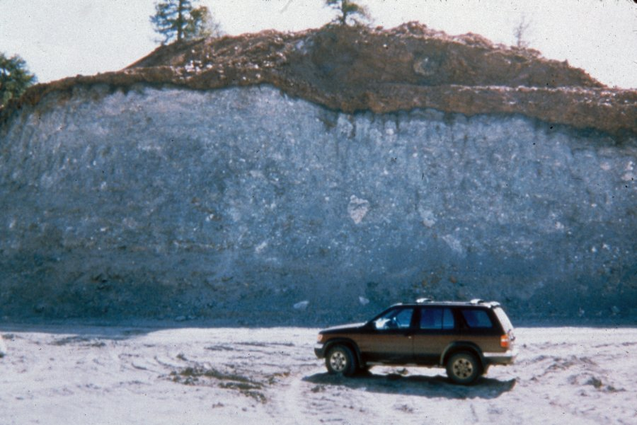 Exposed Highwall At The Kelsey Lake Diamond Mine North Of The Sloan Ranch Colorado And West Of Highway 287 Photo By The Gemhunter