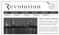 revolution Wordpress Theme mdro.blogspot.com