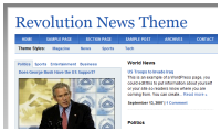 Revolution News Wordpress Theme mdro.blogspot.com
