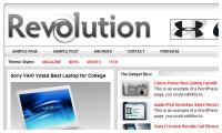 Revolution Tech Wordpress Theme mdro.blogspot.com